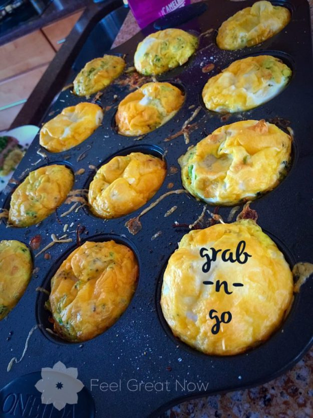 breakfast, egg cup, muffin, grab and go, clean eating, recipe