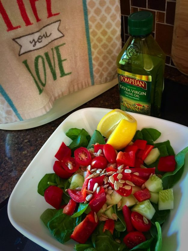 refresh, detox, spinach, salad