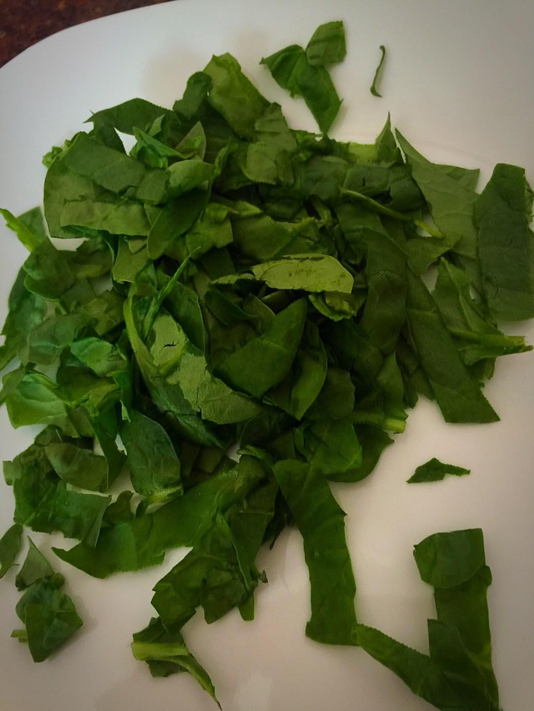 spinach salad pamperd chef