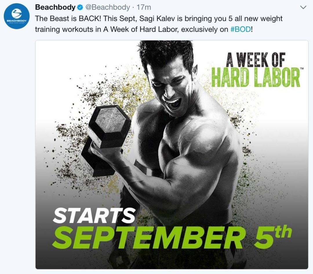 body beast, women who lift, weight lifting for women, sagi kalev, hammer and chisel, beachbody on demand