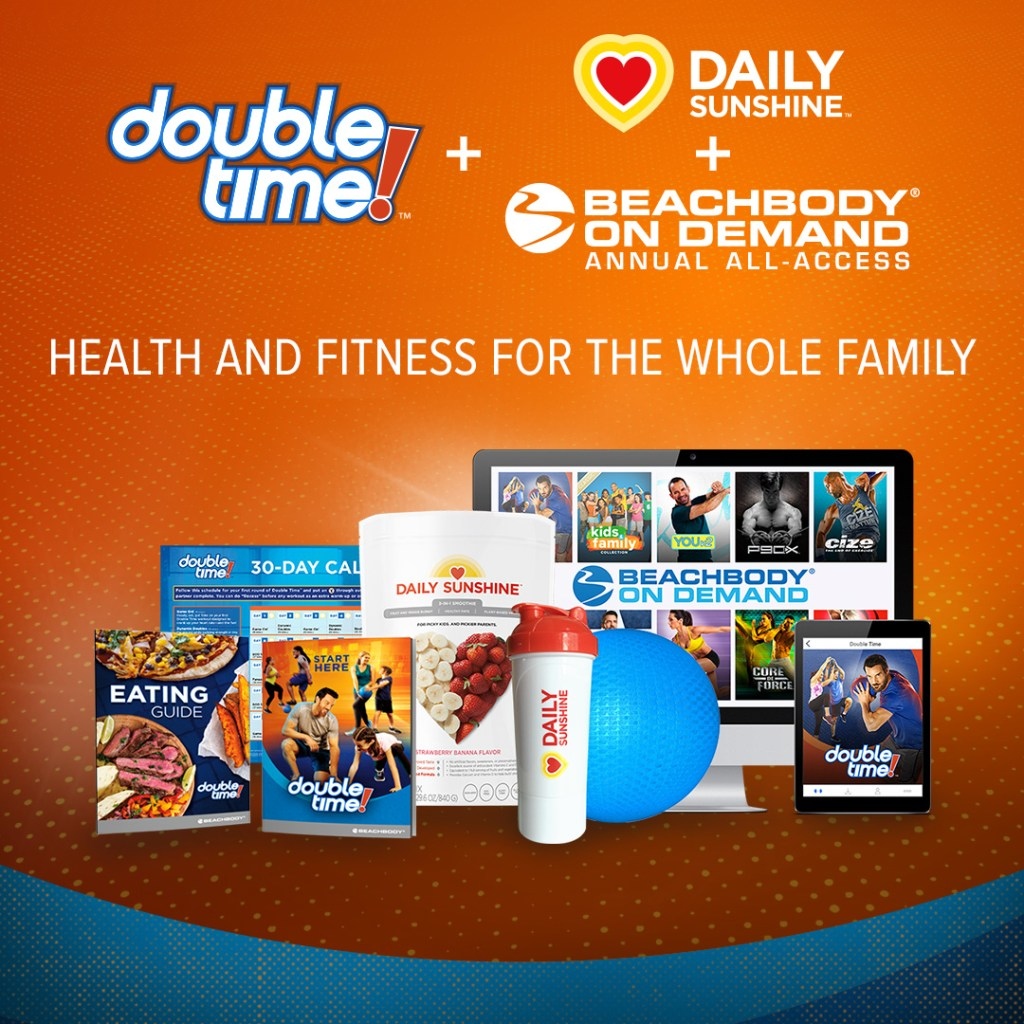 family fitness, double time, workout for kids, kids workout, fun family workout, cardio fitness, 30 minute fitness