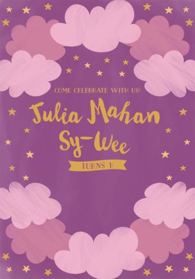 julia wee invite