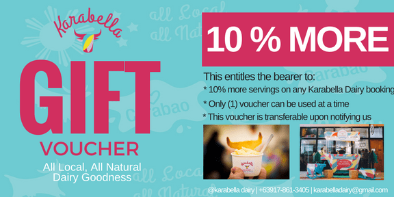 10% more Karabella Gift Voucher