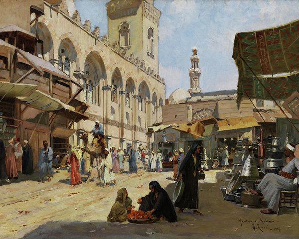 arab-market-in-kaloun-alberto-rossi