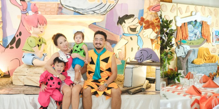 Margaux's Flintstones Birthday: A Truly Rocking Party!