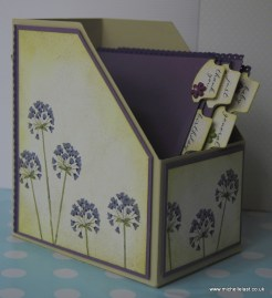Card Box File by Michelle Last Tutorial available