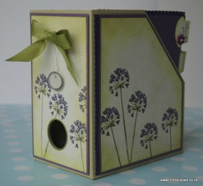 Card box file tutorial made by Michelle Last
