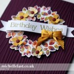 wondrous wreath from stampin up