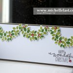 wondrous wreath-garland christmas card