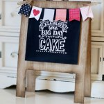 Big Day Easel-card by Michelle Last