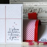 valentine card by Michelle Last using Stampin' Up!