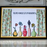 vivid-vases from stampin up