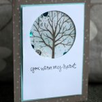 sheltering-tree shaker card by Michelle Last
