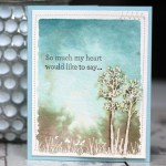 In the Meadow bereavement card