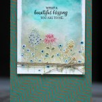 Flowering Fields free from Stampin Up during Saleabration 2016
