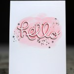 #GDP034 Hello Card for the Global Design Project