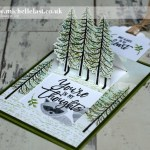 Thoughtful Branches & Foxy Friends Pop Up Card