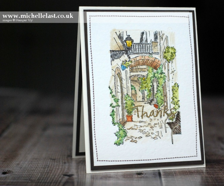 Mediterranean moments from Stampin Up