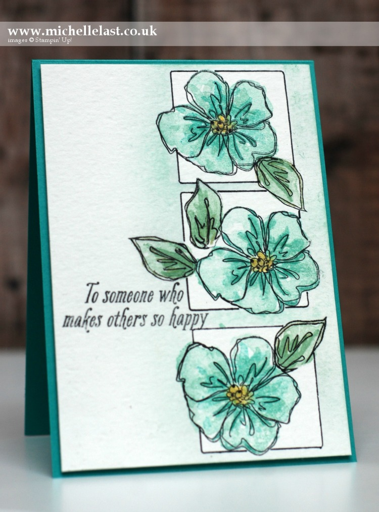 Penned & Painted from Stampin Up