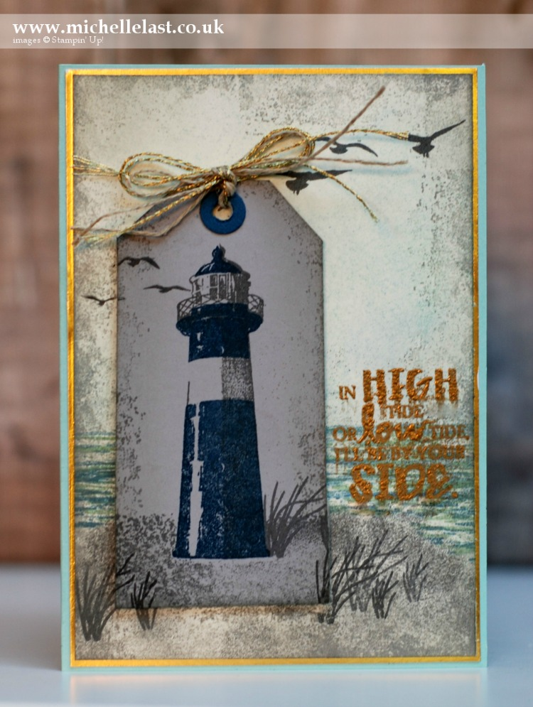 High Tide from Stampin Up