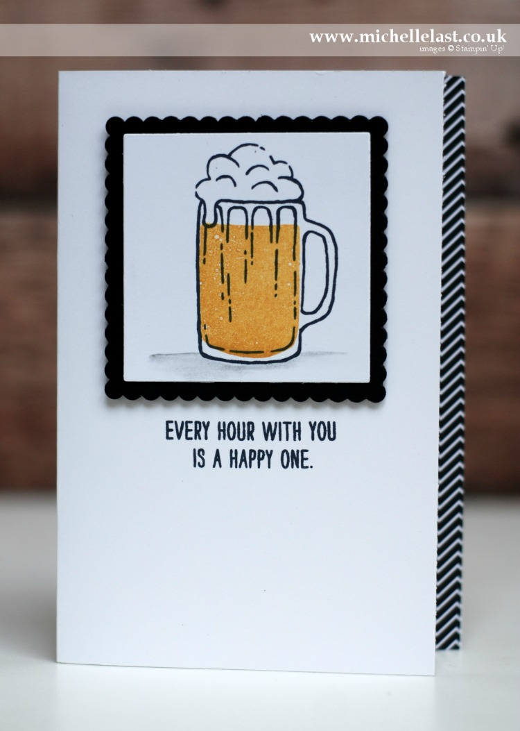 Mixed Drinks Pint of Beer Stampin Up