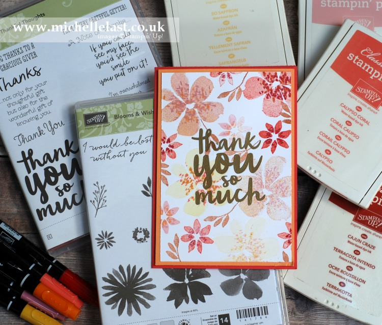 Blooms & Wishes from Stampin Up