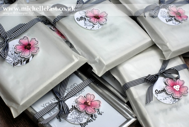 Table Gifts for Stampin Up OnStage 2017