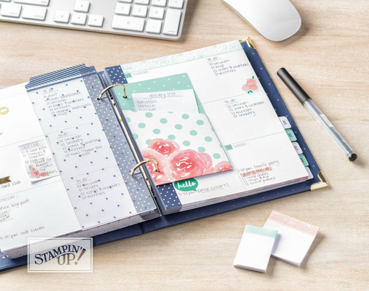 Stampin Up Love Today Planner Kit