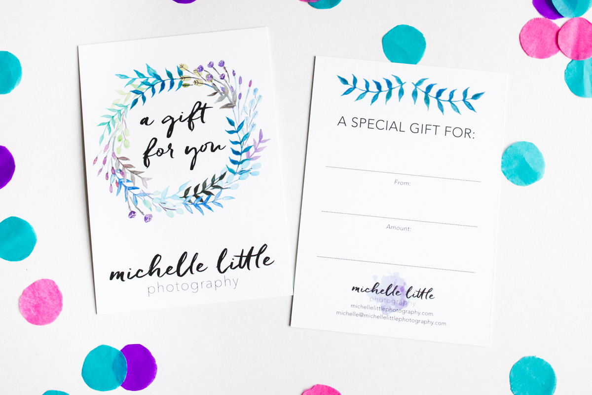 Montreal Photographer Gift Certificate