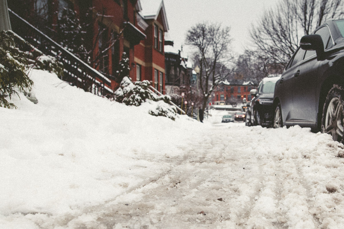 Urban Winter in Montreal