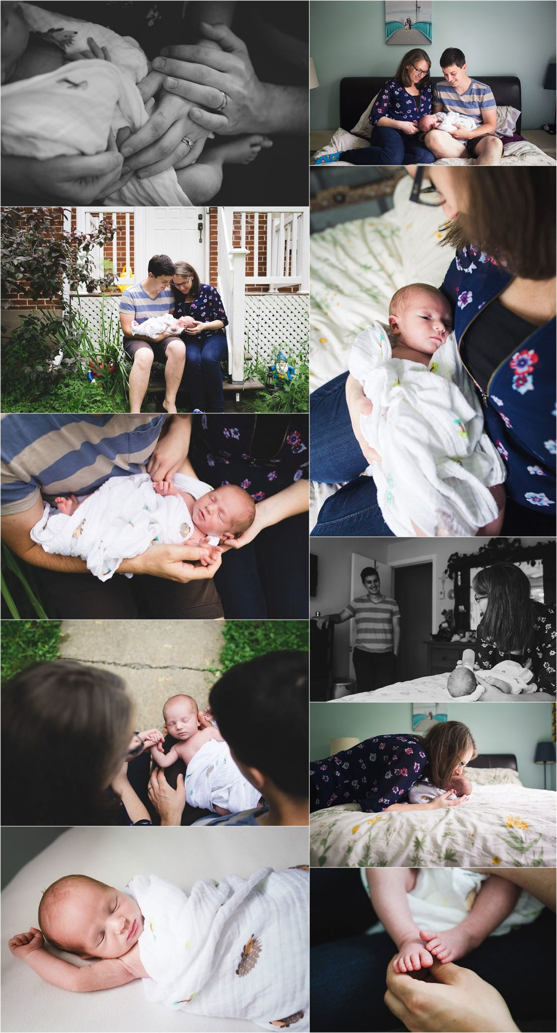Newborn Photography Session with Michelle Little Photography in Montreal, Quebec, Canada