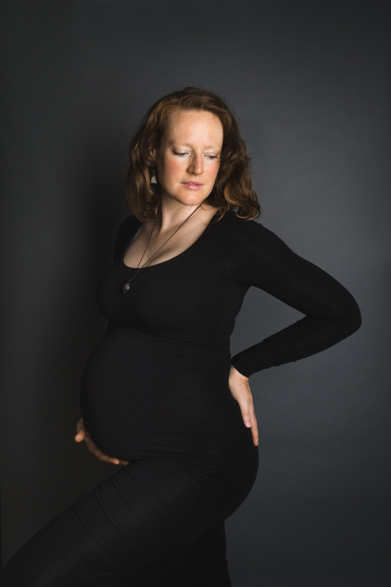 Montreal Studio Maternity Photographer