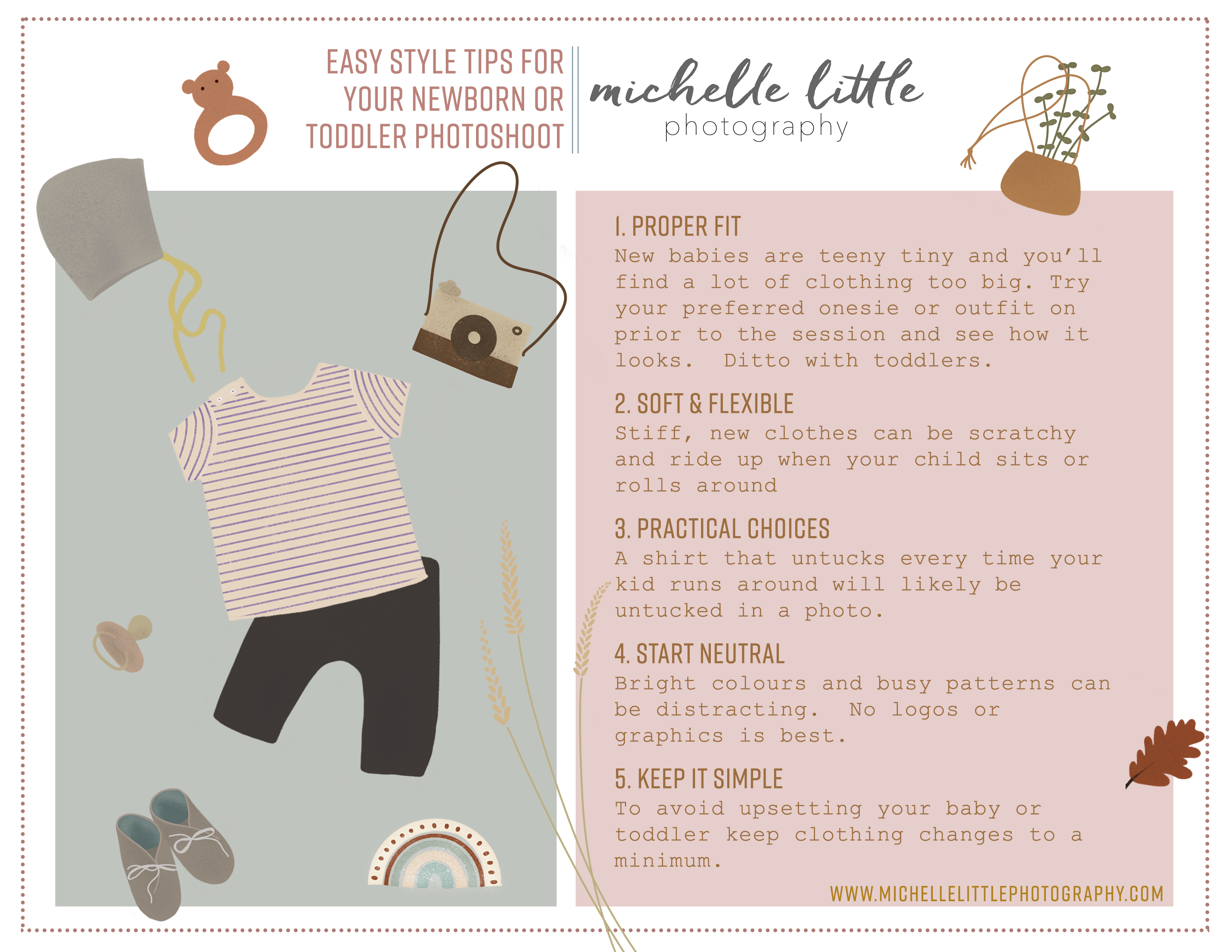 4 Easy Steps to Building A Mindful Baby Wardrobe