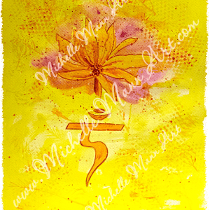 Solar Plexus Chakra by Michelle Mann copyright Michelle Mann 2017 all rights reserved