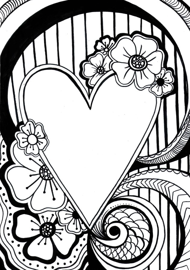The creative DBT workbook, creative DBT art, free colouring page by michelle morgan