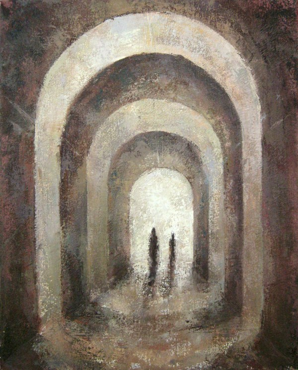 Sacred Architecture Paintings Building Inspiration