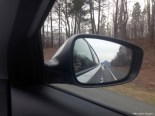 Pilot Mountain in the rearview