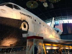 On the drive to NY, we stopped at Smithsonian's Udvar-Hazy Center near Washington, D.C.