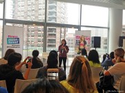 Betty Wong, Fitness Editor-in-Chief, welcomes everyone.