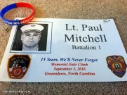 Proud to wear a tag saluting Lt. Paul Mitchell