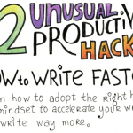 How to Write Faster: 12 Fantastic Productivity Hacks #Infographic