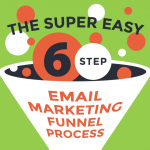 The Super Easy 6-Step Email Marketing Funnel Process #Infographic