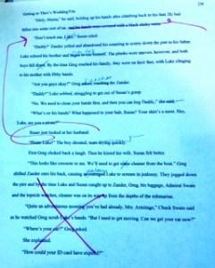 Rewrite, joy of rewriting, writing corrections, writing process, novels, authors, writing process, editing, Yuletide Bride