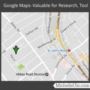 Google maps, research, Mrs. Oswald Chambers, Ancestry.com, historical research, maps, reference, directions, street view, google maps uk