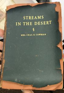 Streams in the Desert early edition
