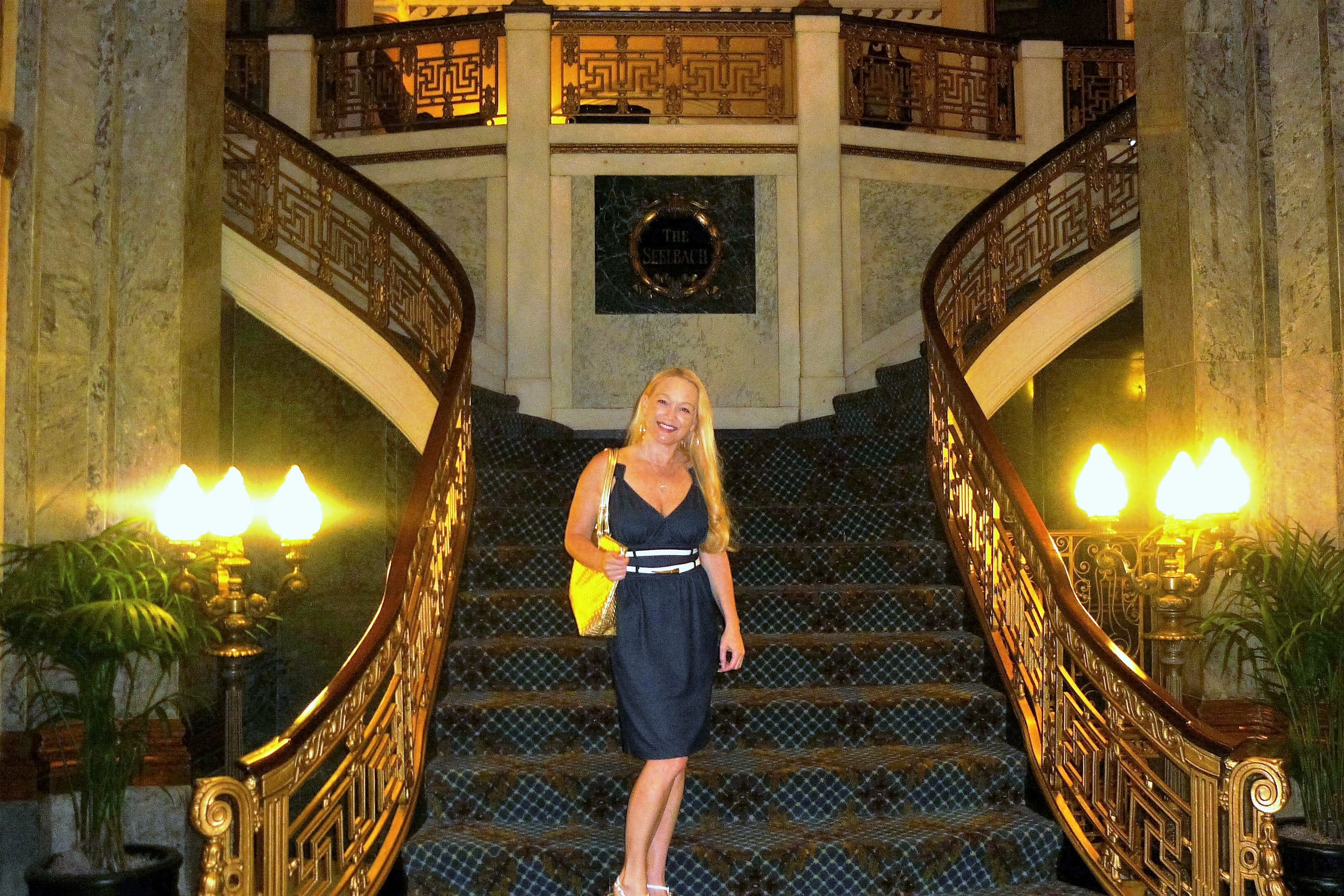 Historic Seelbach Hilton Hotel in Louisville, Kentucky