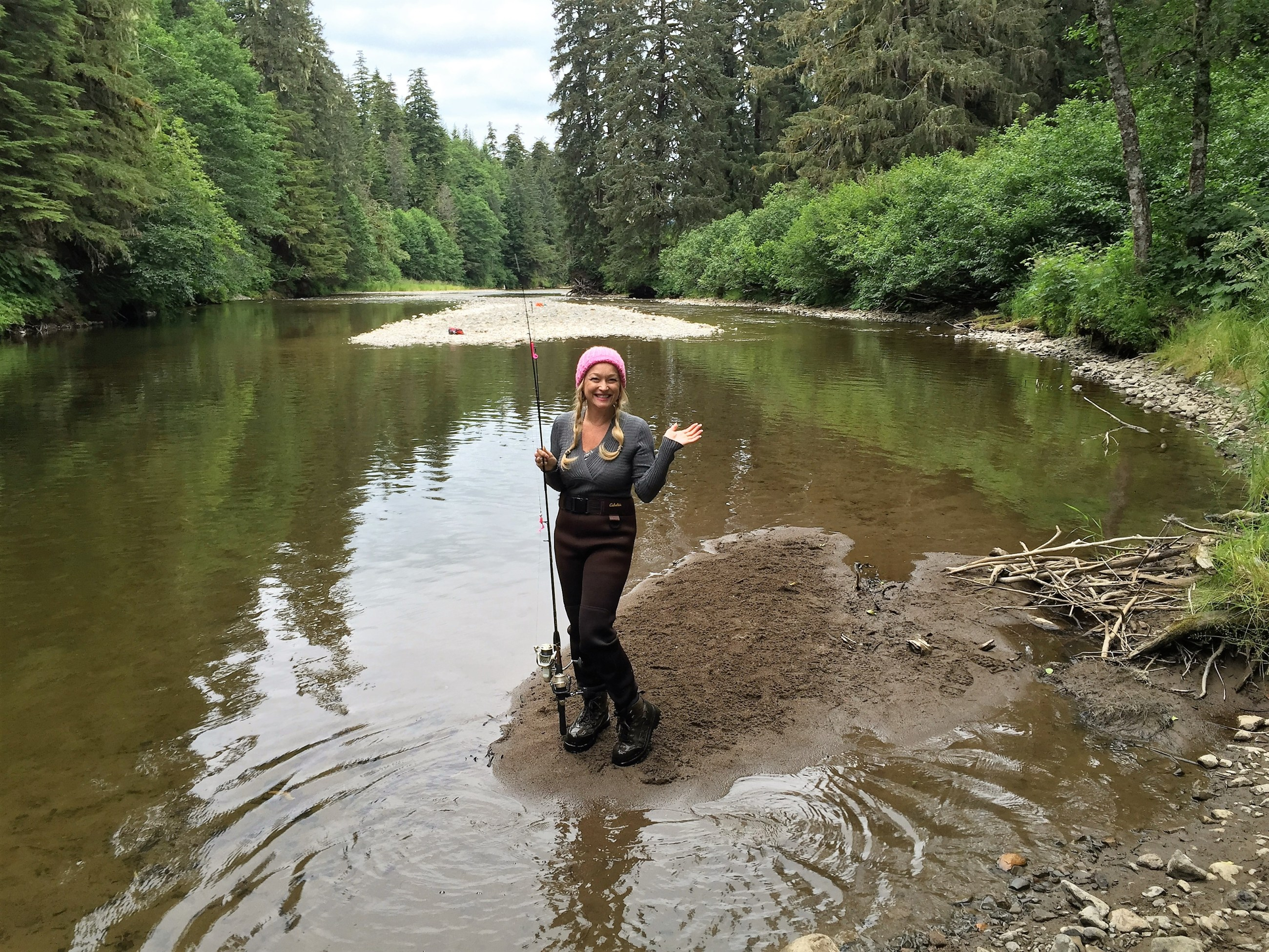 Tips for Salmon Fishing in Game Creek, Alaska