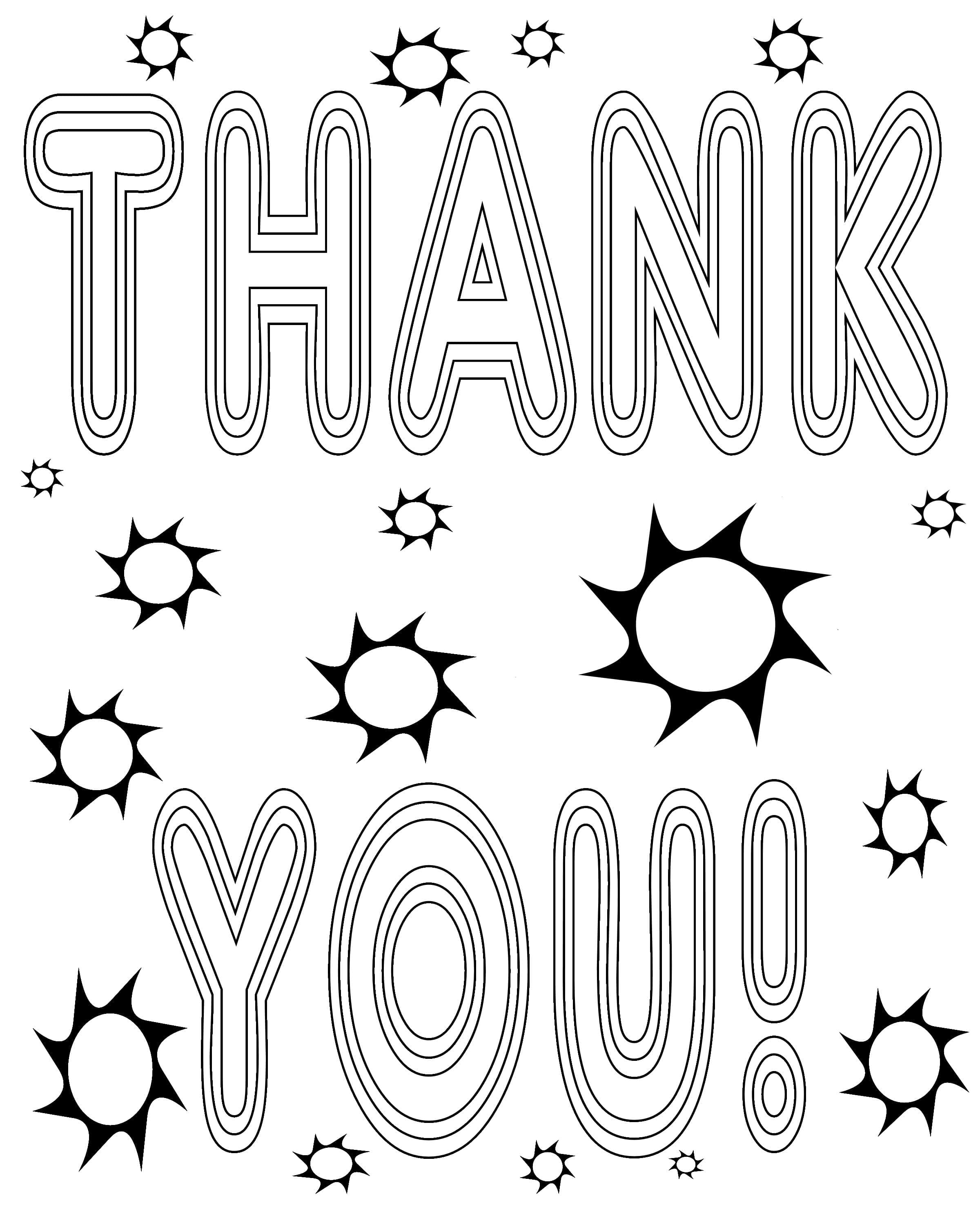Free coloring pages of thank you teacher