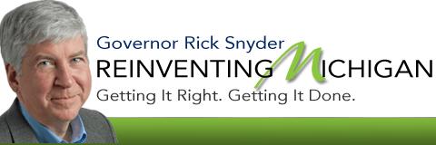 Snyder - Governor Rick Snyder of Michigan