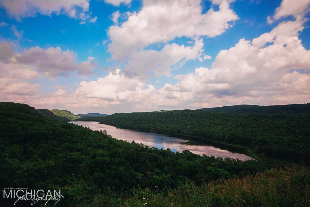 Lake of the Clouds in Michigan's Porcupine Mountains